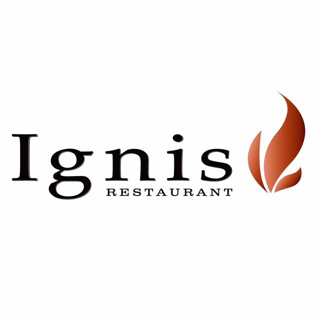フレンチと醸造酒 Ignis 北新地店 ロゴ