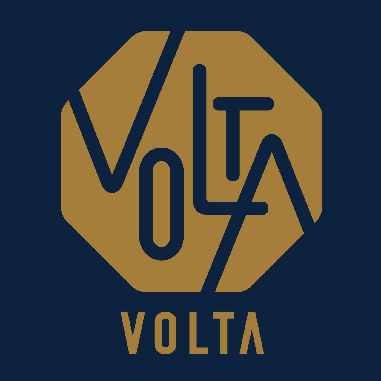 炭火焼とワインの酒場 VOLTA 北新地店 ロゴ