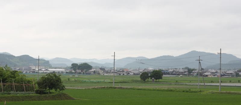 七谷地鶏景色
